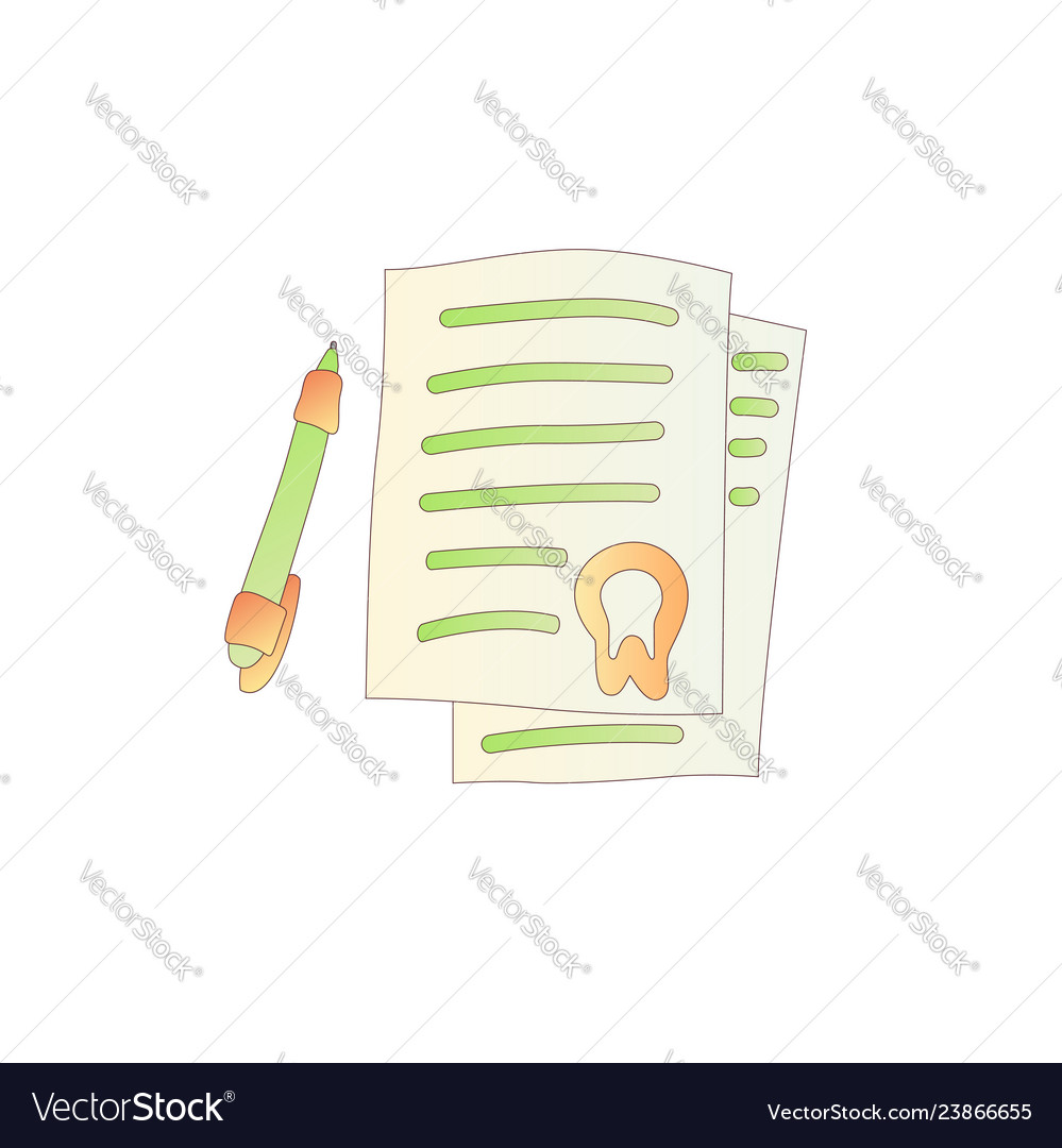Cute cartoon letter with stamp