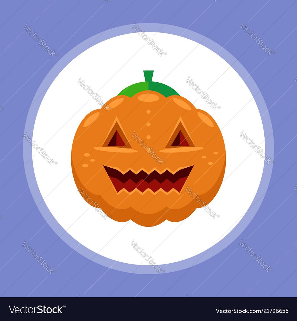 Halloween pumpkin icon sign symbol