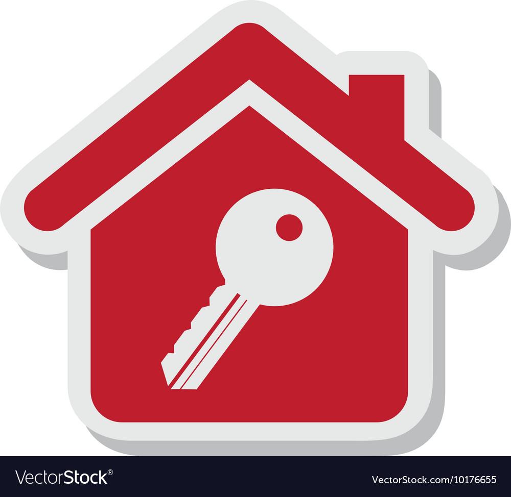 Key property isolated icon