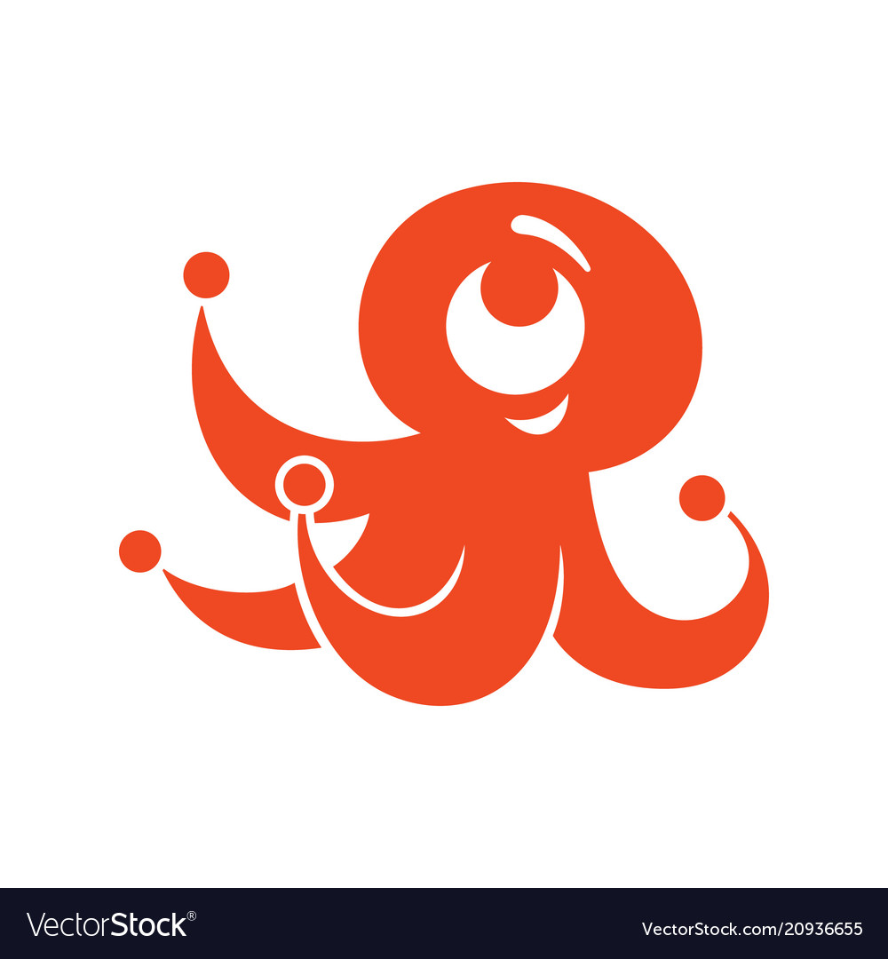 Octopus abstract sign