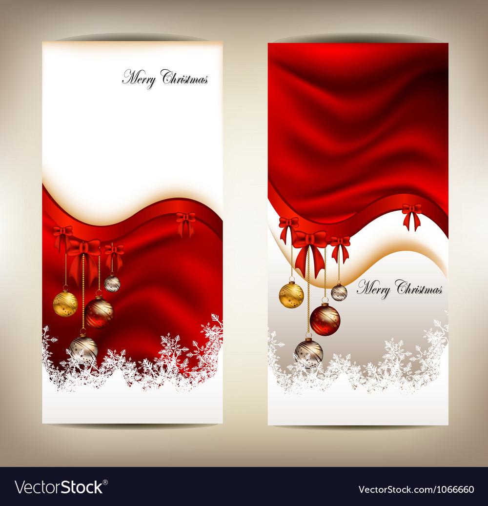 Beauty christmas card background