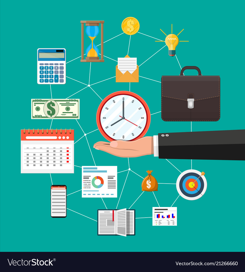 Control business planning and time management