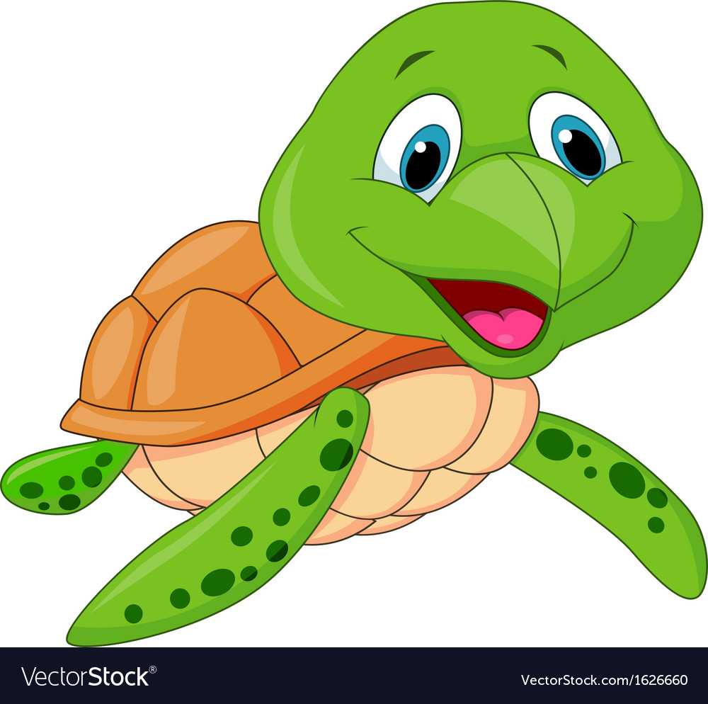 Turtle cartoon picture free — 2