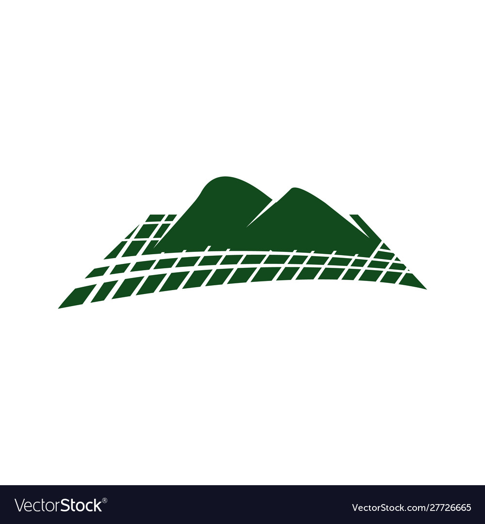 Abstract mountain logo nature or outdoor