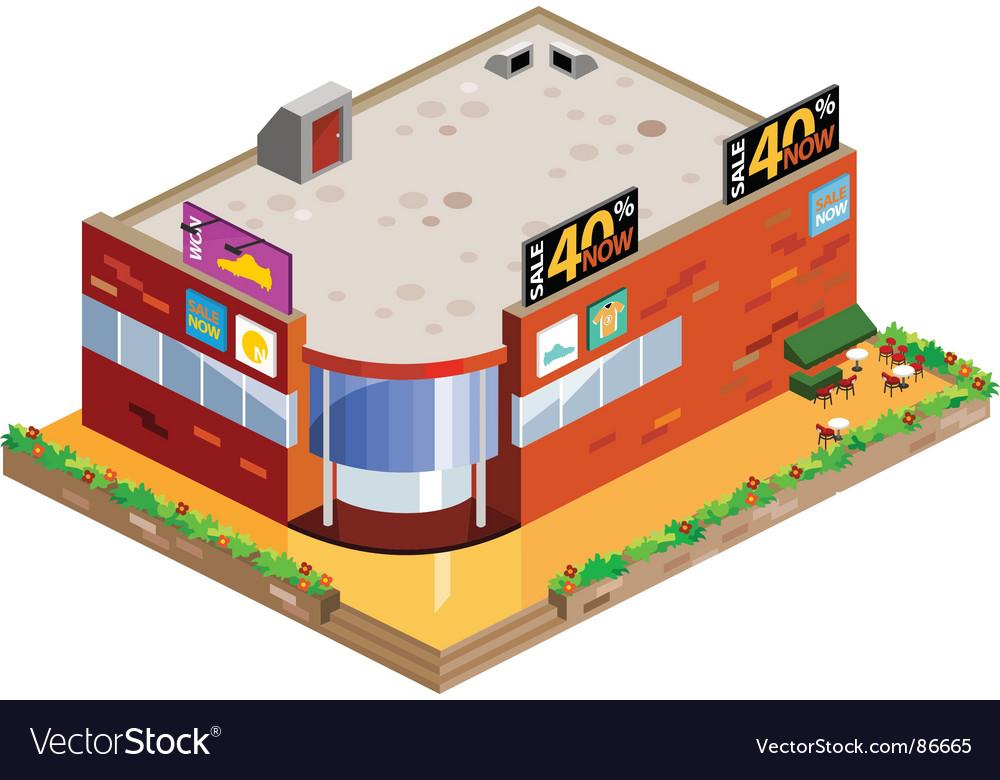Mall vector image