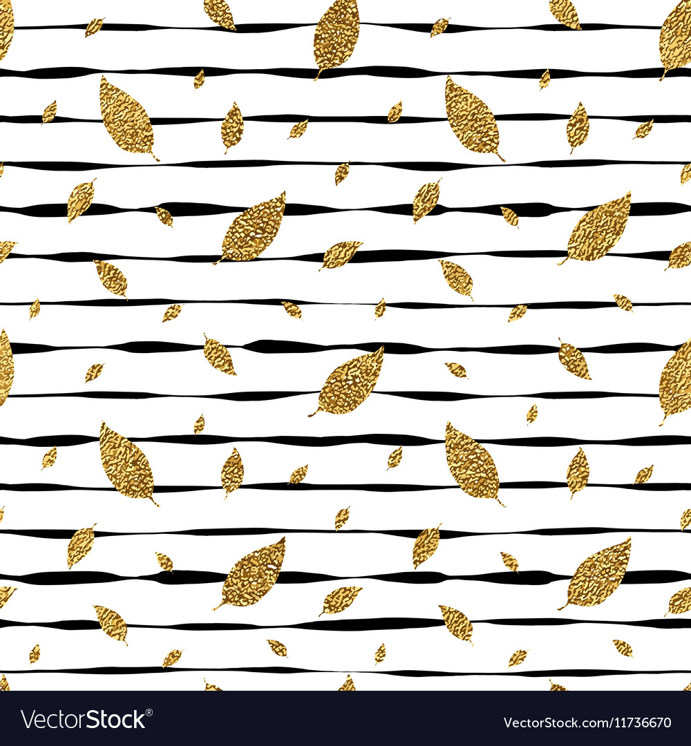 Grunge autumnal linear background with golden