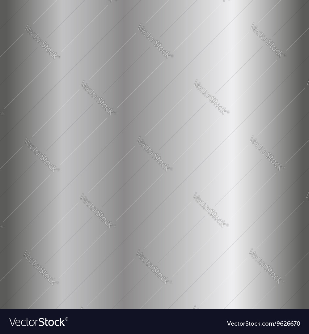 Silver texture seamless pattern realistic vector image