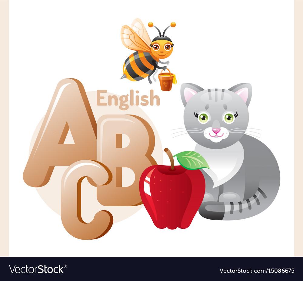 English alphabet abc icon