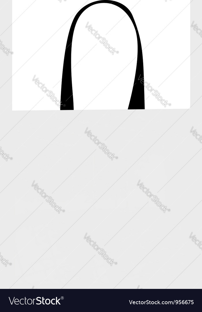 Shopping bag isolated with grunge pattern