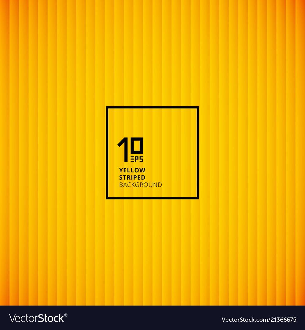Yellow striped vertical lines pattern background