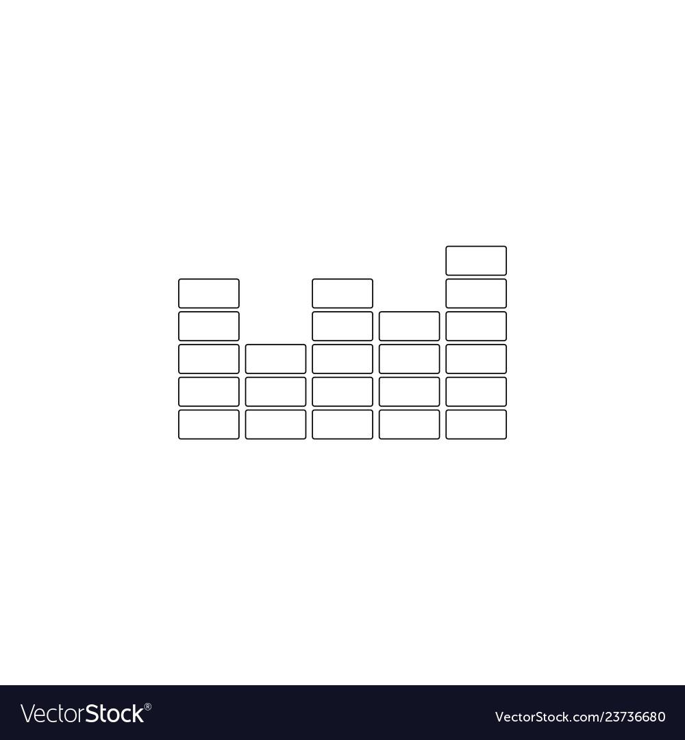 Equalizer flat icon