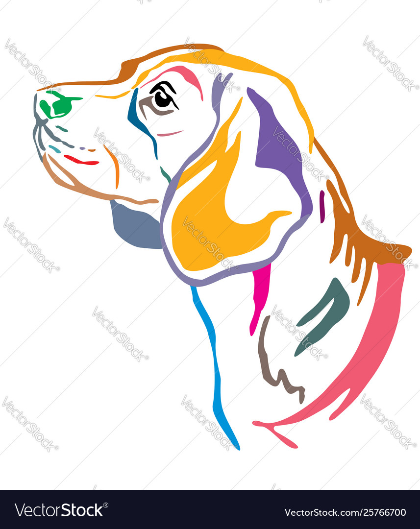 Beagle Tattoo Vector Images 62