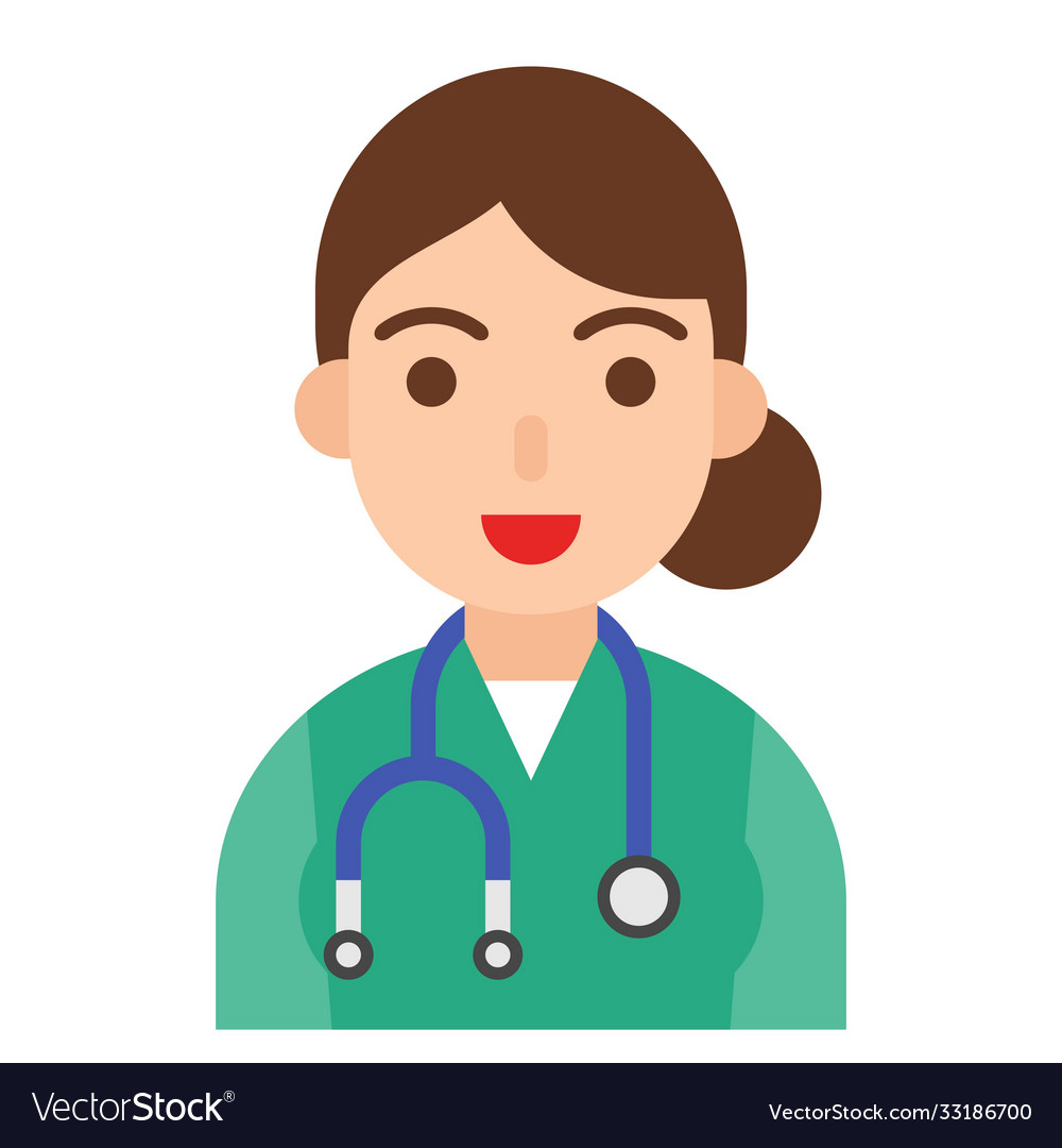 Doctor icon profession and job