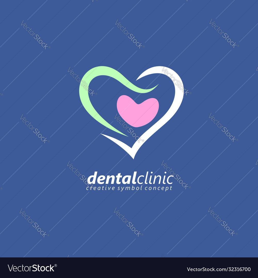Medical logo designed for dental clinic
