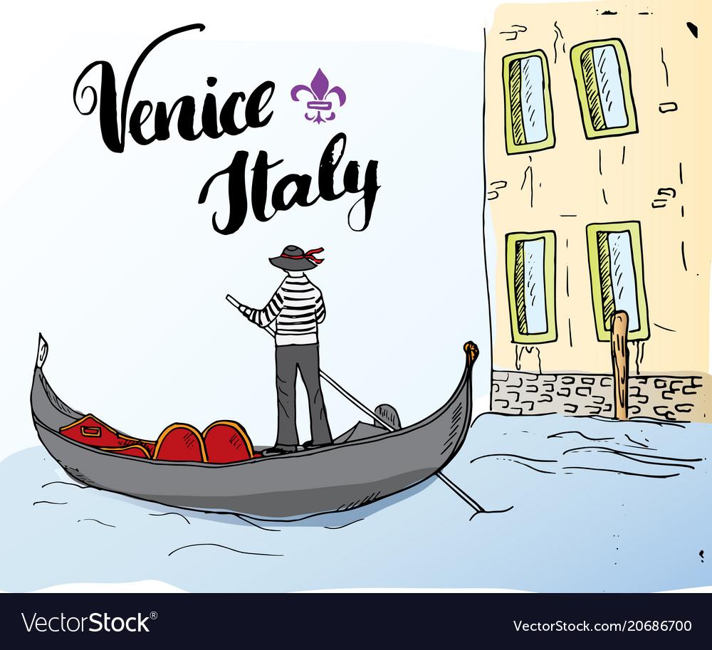 VENEZIA  ITALY VINTAGE STYLE REPRODUCTION TRAVEL POSTER Choice of sizes.