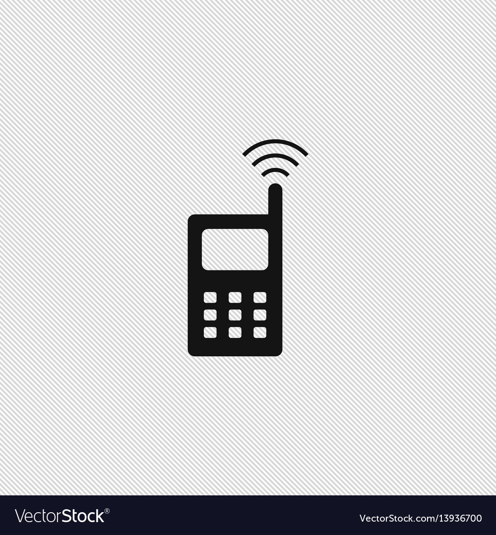 Wireless icon simple