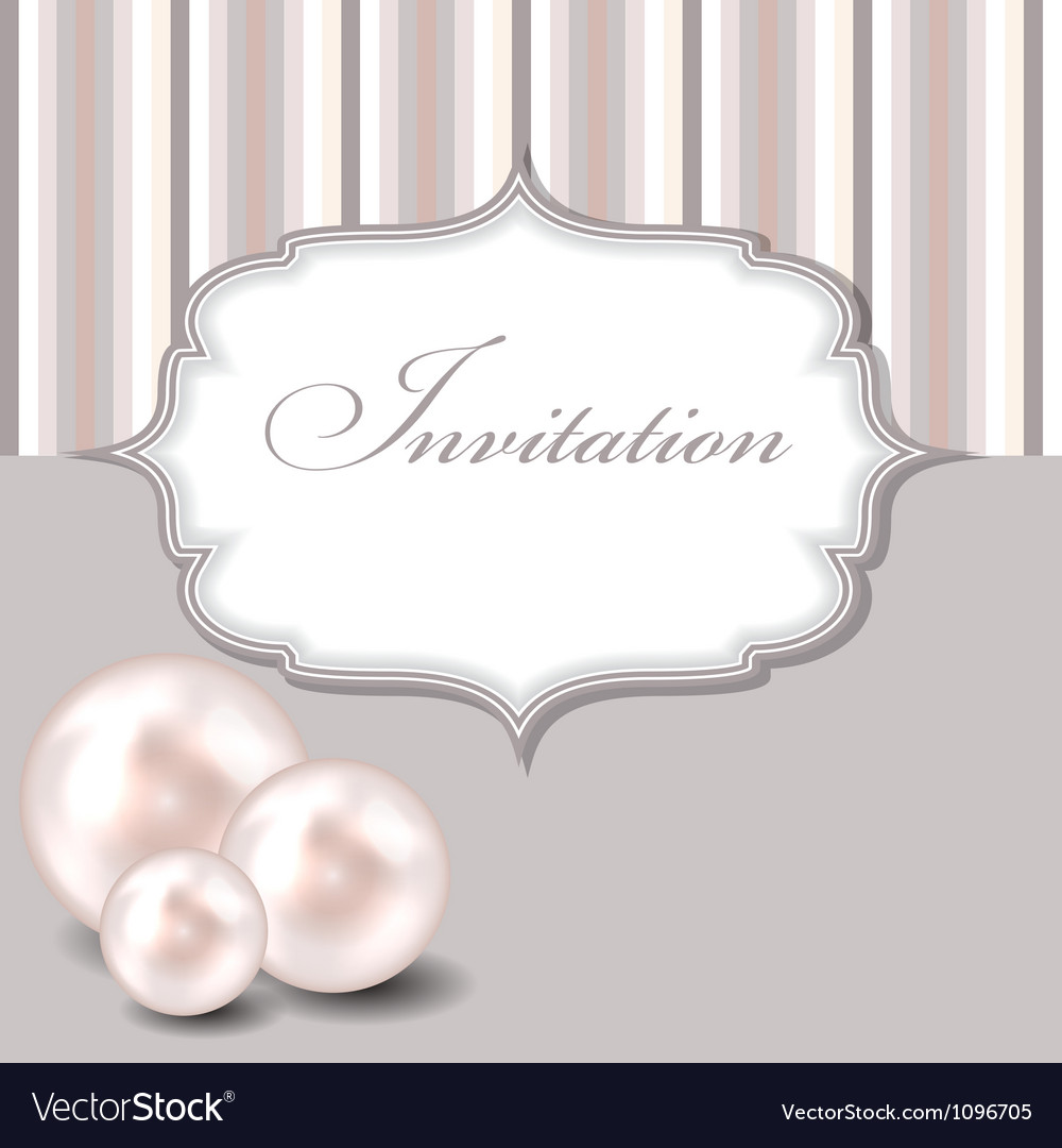 Beauty pearl background vector image