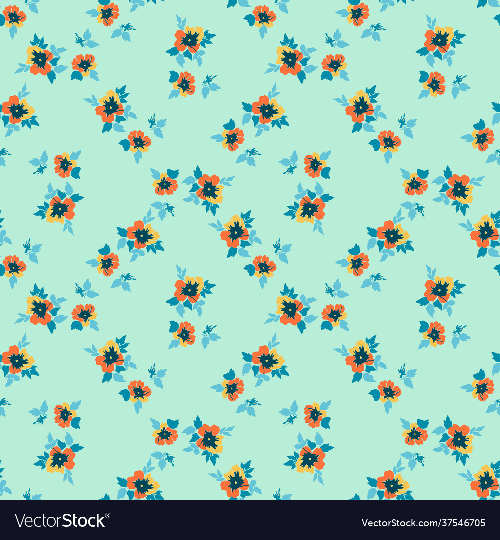 Drawing bloom flowers roses floral seamless