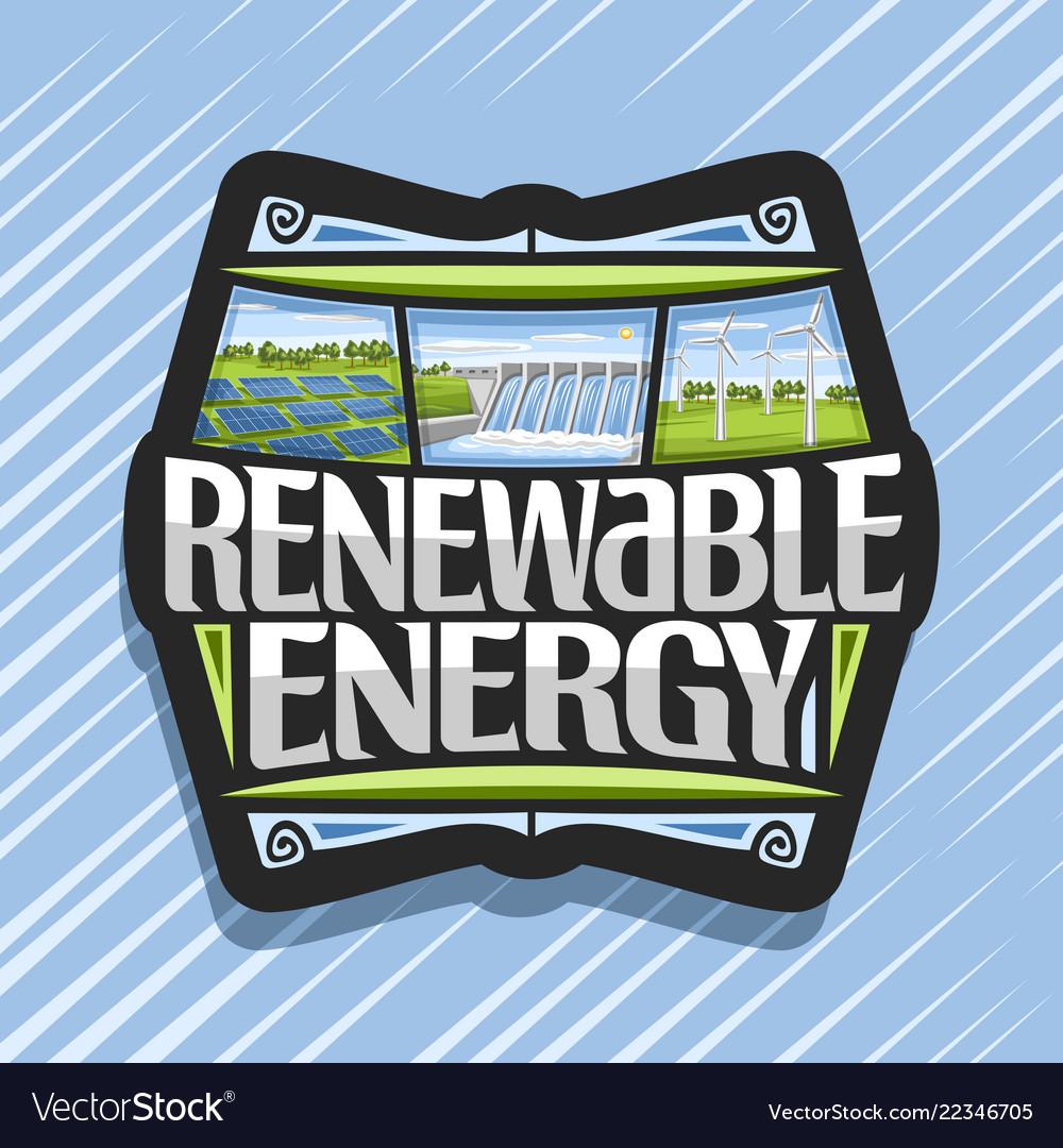 Logo for renewable energy
