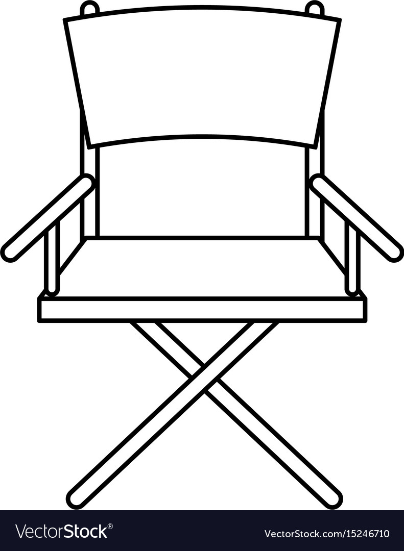 Folding chair icon image