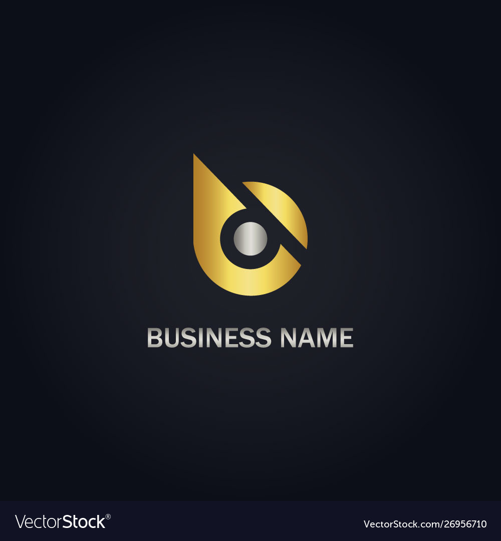 Gold b initial company logo