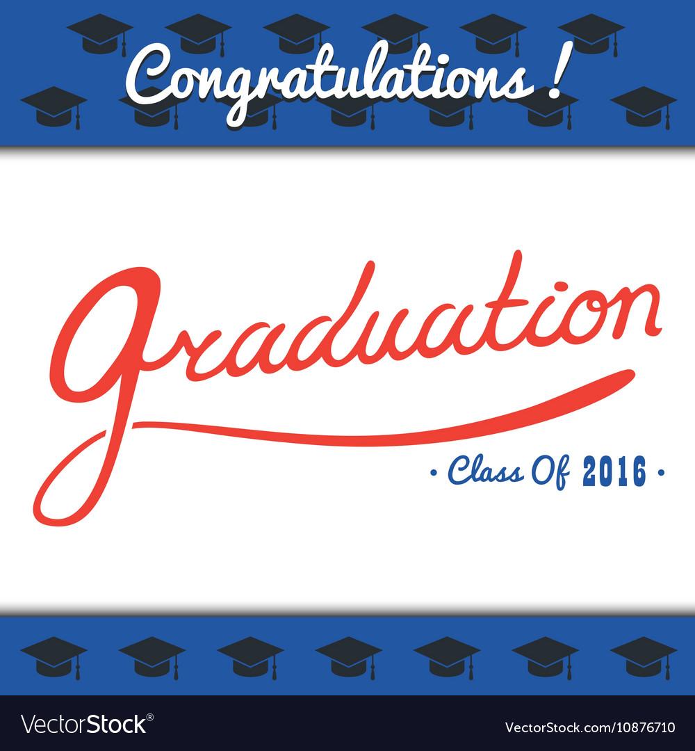 Graduation template Party Congrats