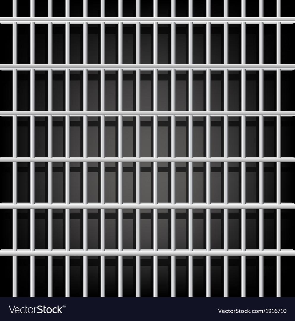 Prison grid on black