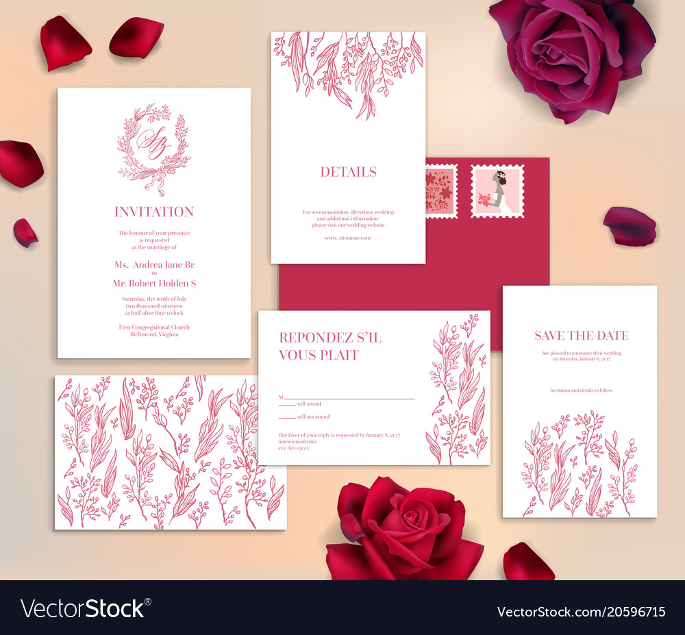 Date, Header, Invitation & Save Vector Images (71)