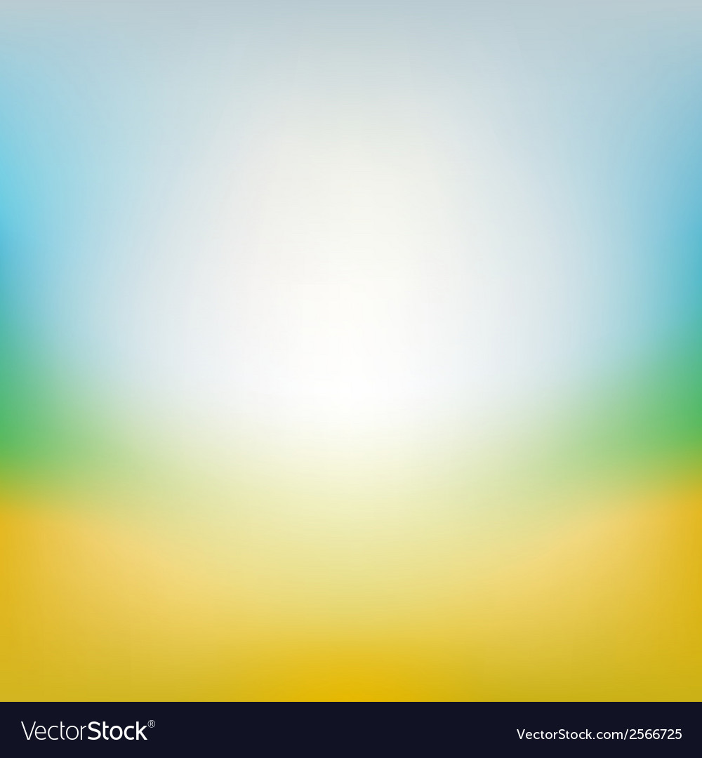 blurred summer background royalty free vector image