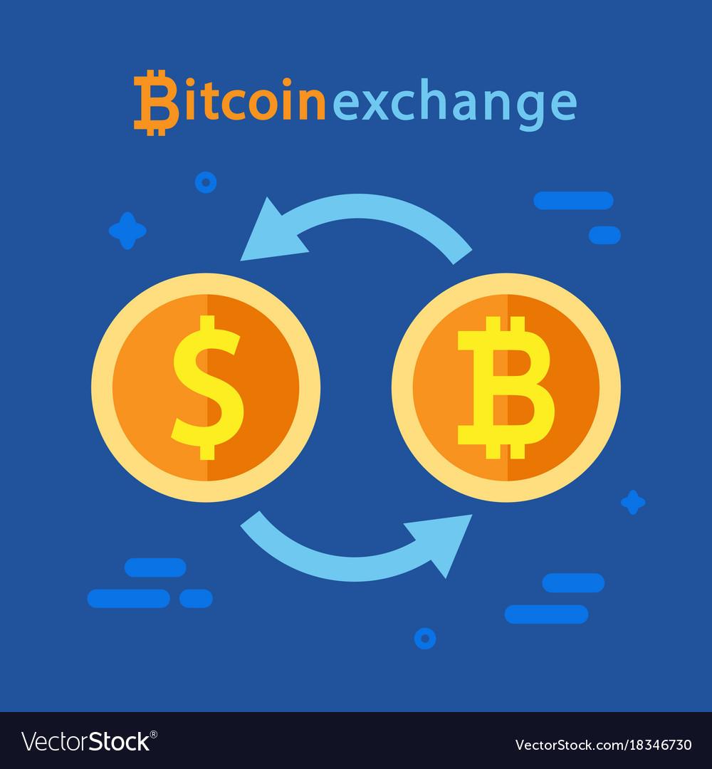 Dollar Exchange Concept Royalty Free Vector