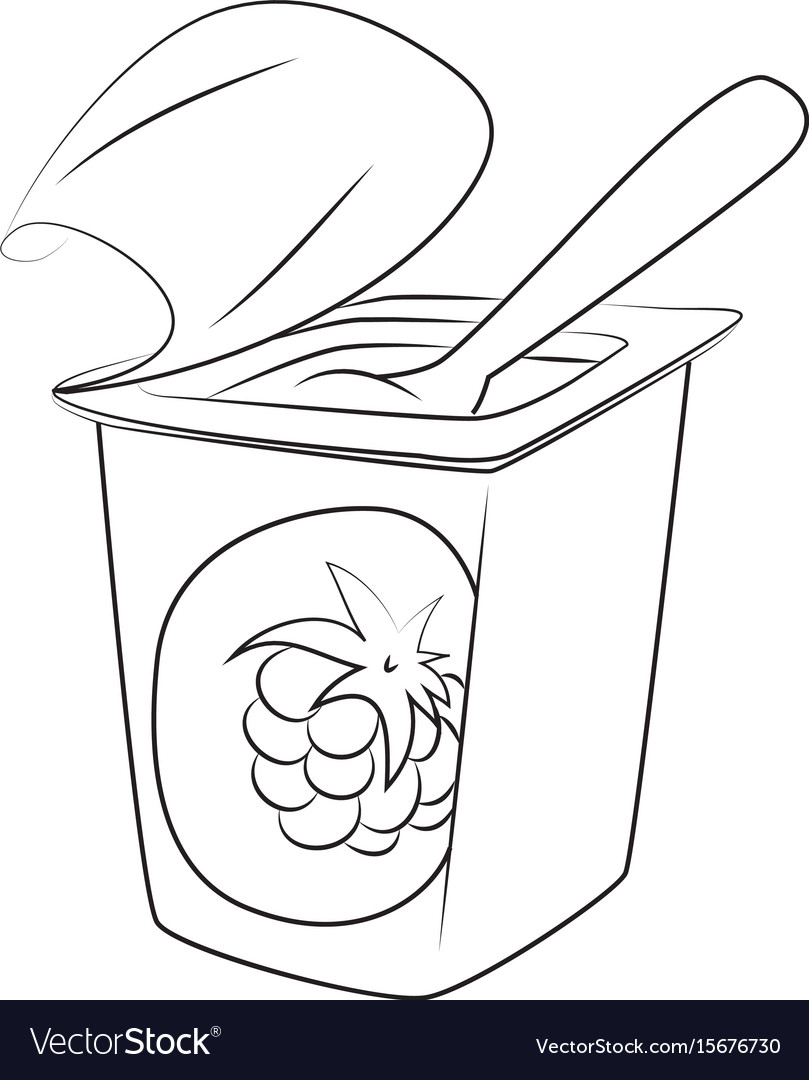 йогурт рисунки карандашом тестино известен