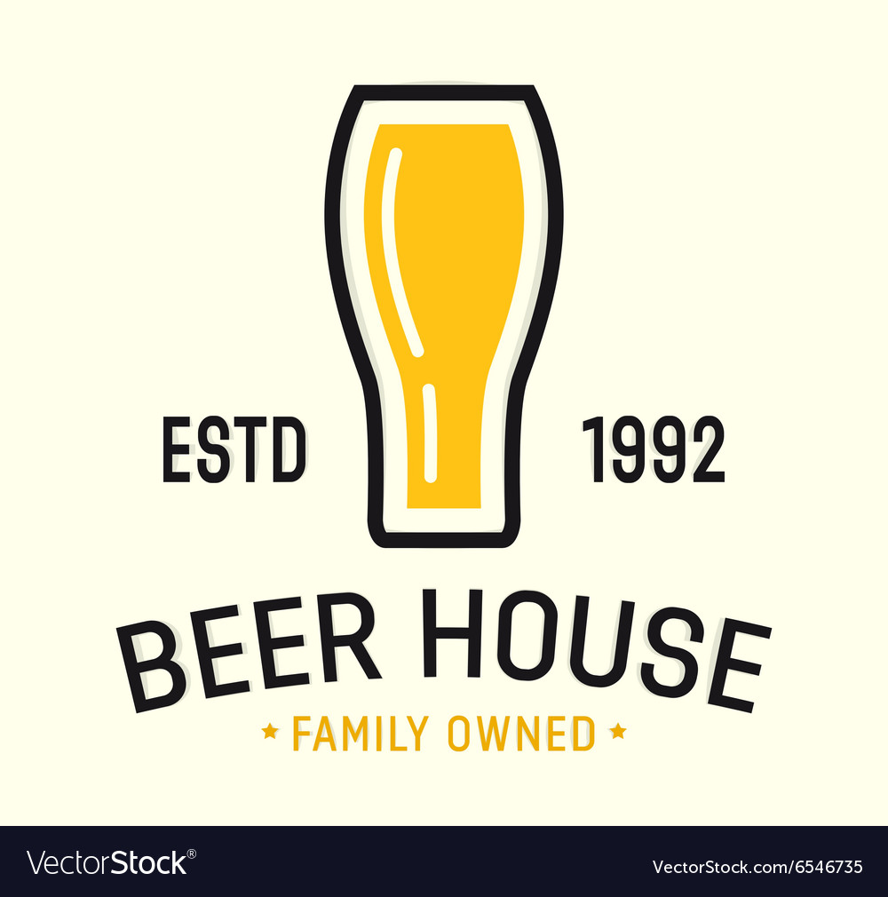 Craft beer and brewery logos