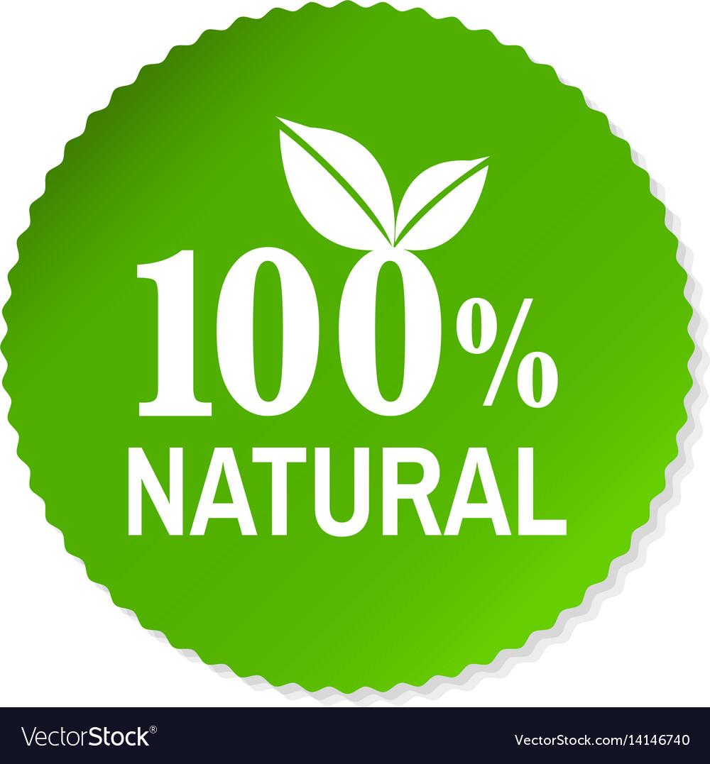 Nature label