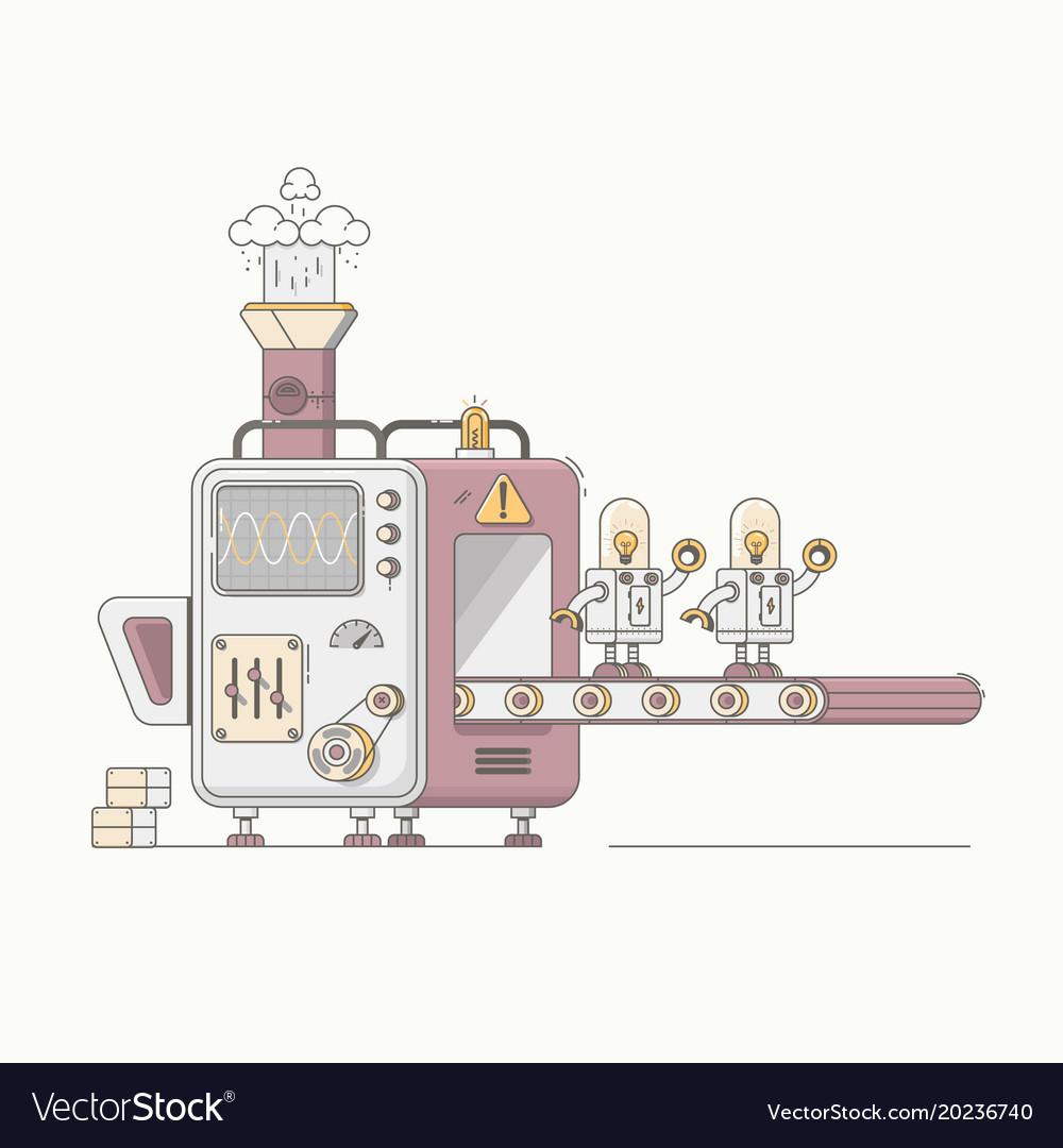 Robotic arm mechanic equipment assembling robots