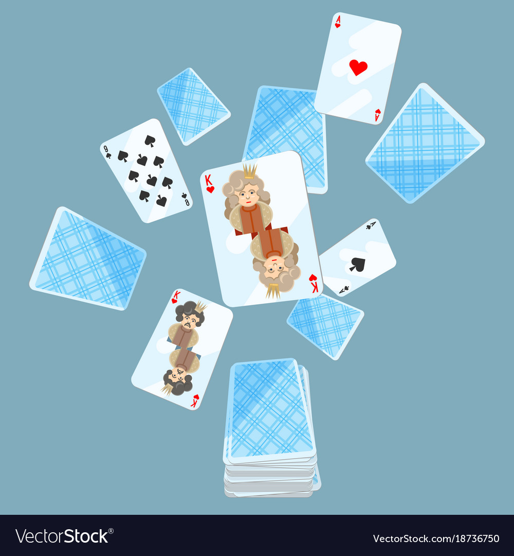 Deck of cards messed up on