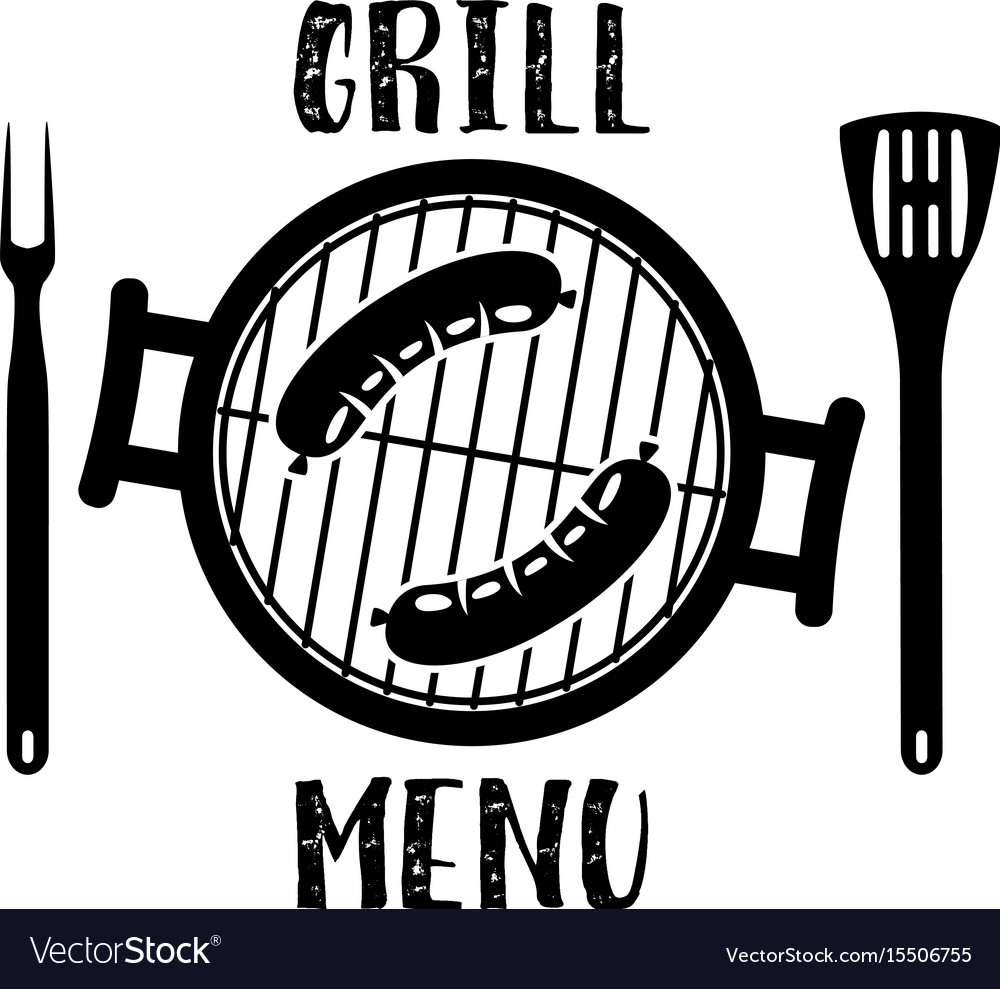 Grill menu symbol