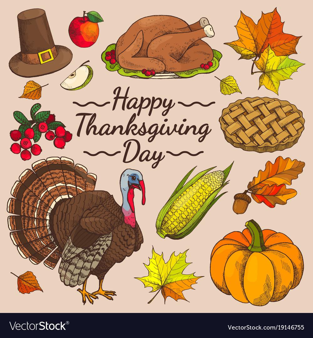 Happy thanksgiving day promo