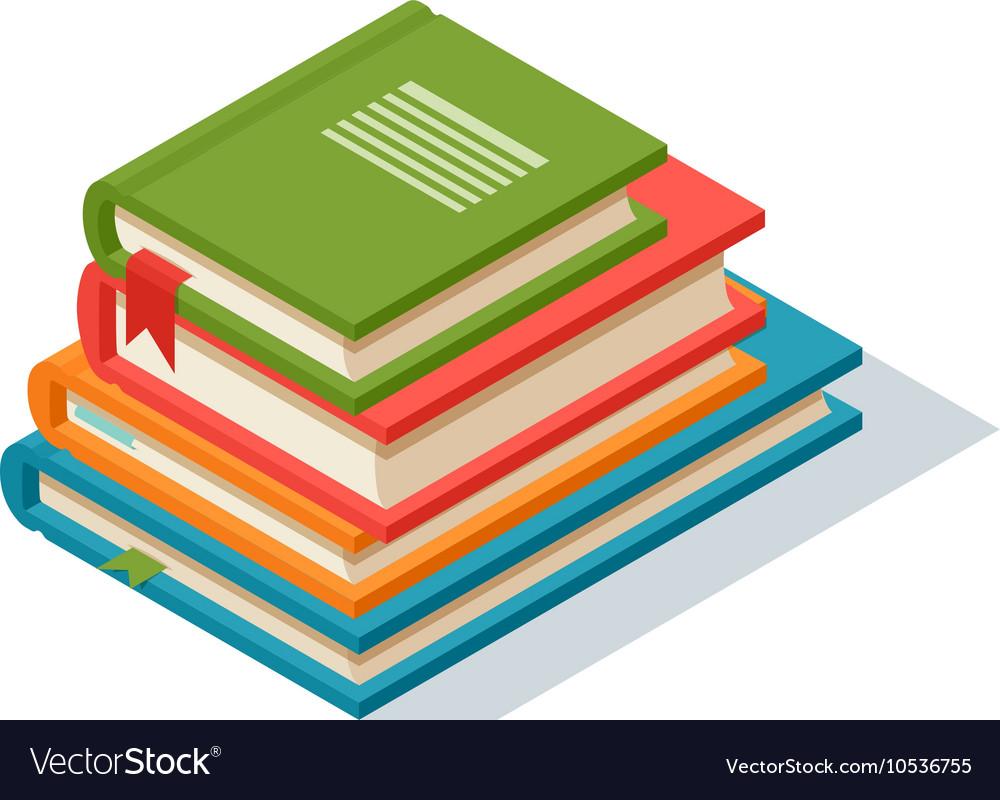 Isometric book icon