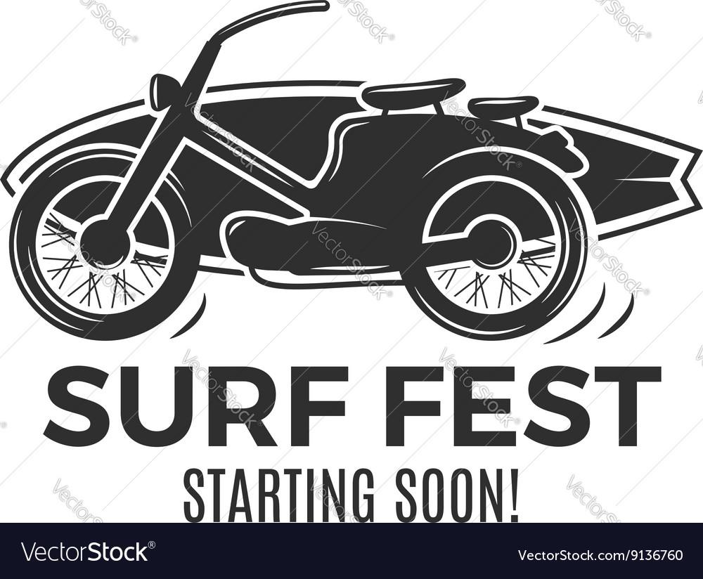 Vintage Surfing tee design Retro Surf fest tshirt