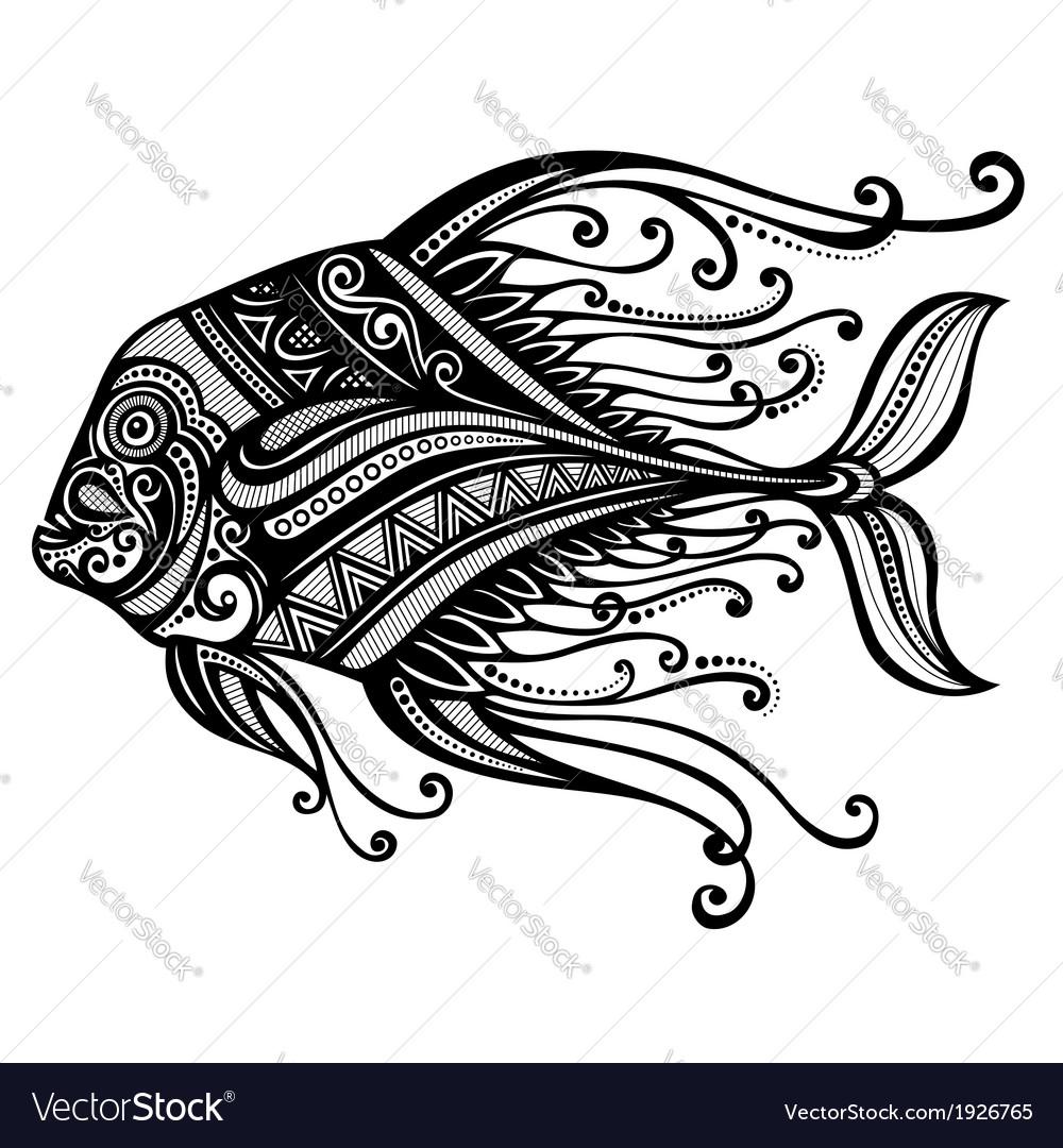 Abstract Sea Fish