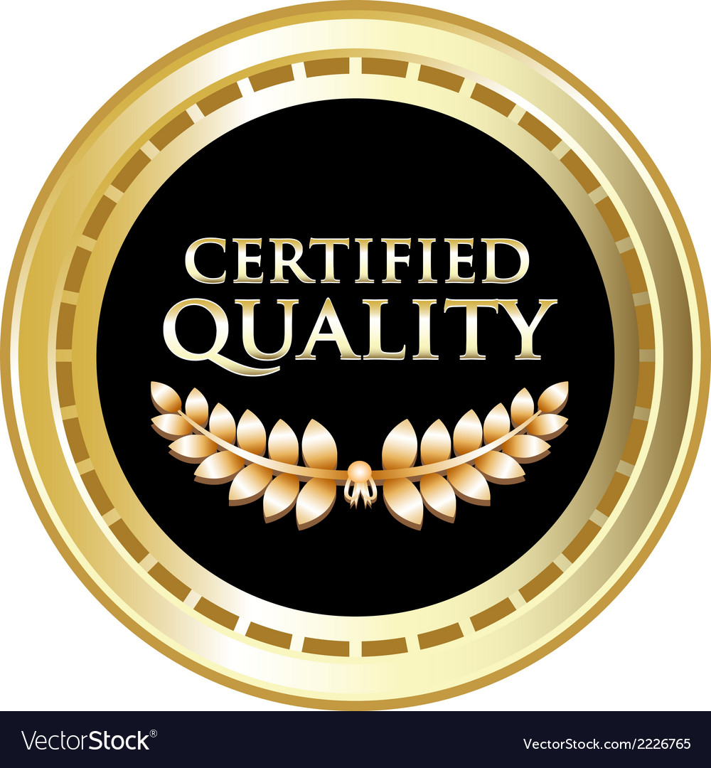 Certified Quality Black Label