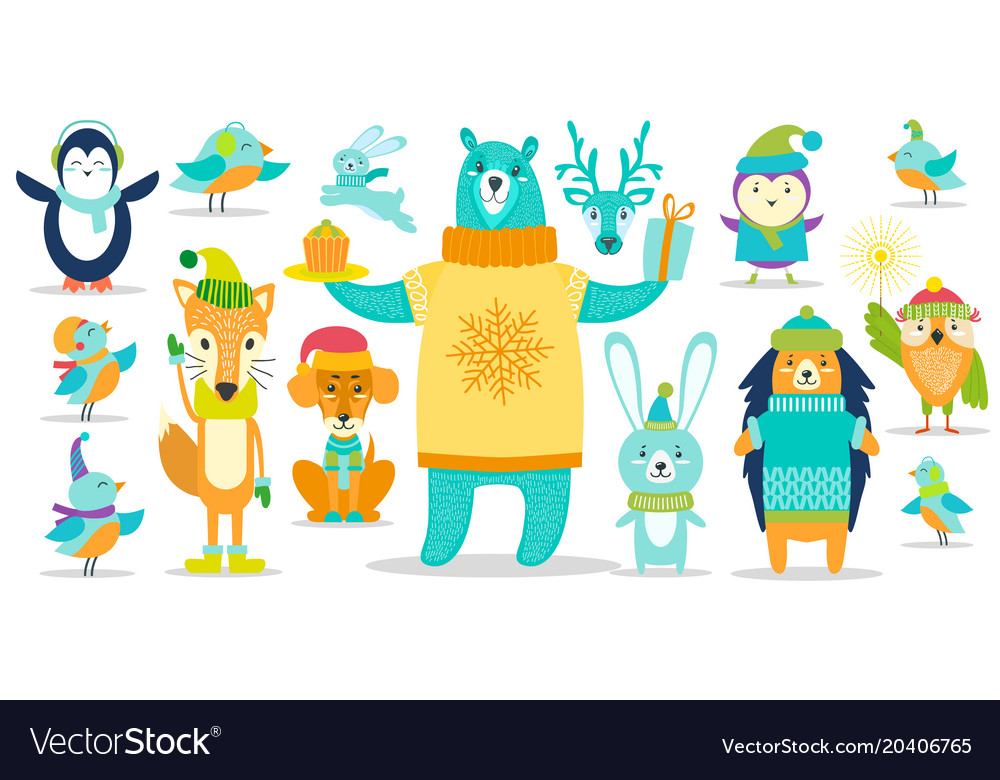 Deer and dog other animals on