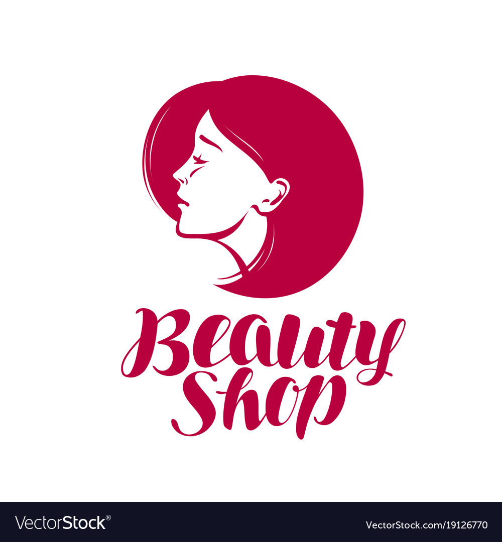 or label makeup cosmetic spa Vector Image