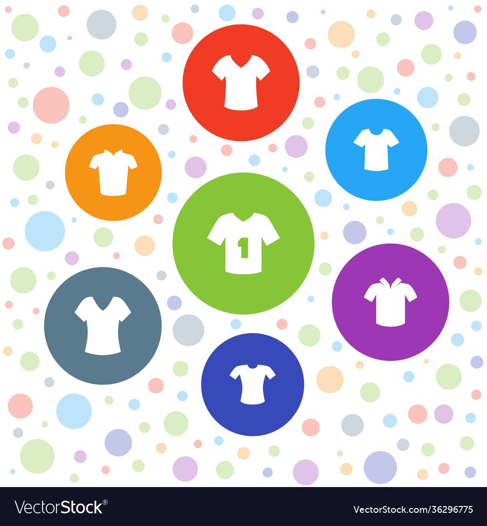 7 tshirt icons