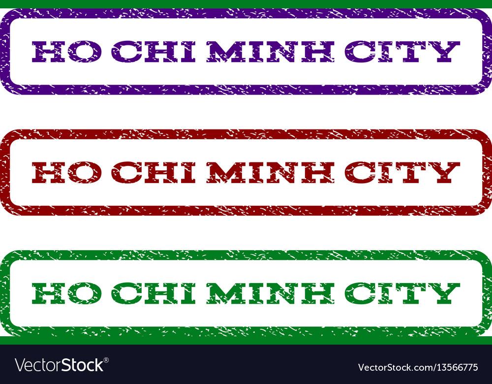 Ho chi minh city watermark stamp
