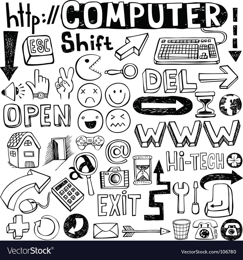 Computer doodles