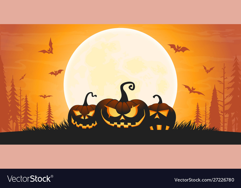 Scary halloween background 01