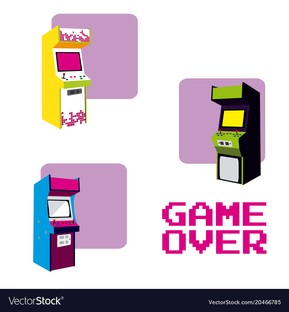 Arcades game over