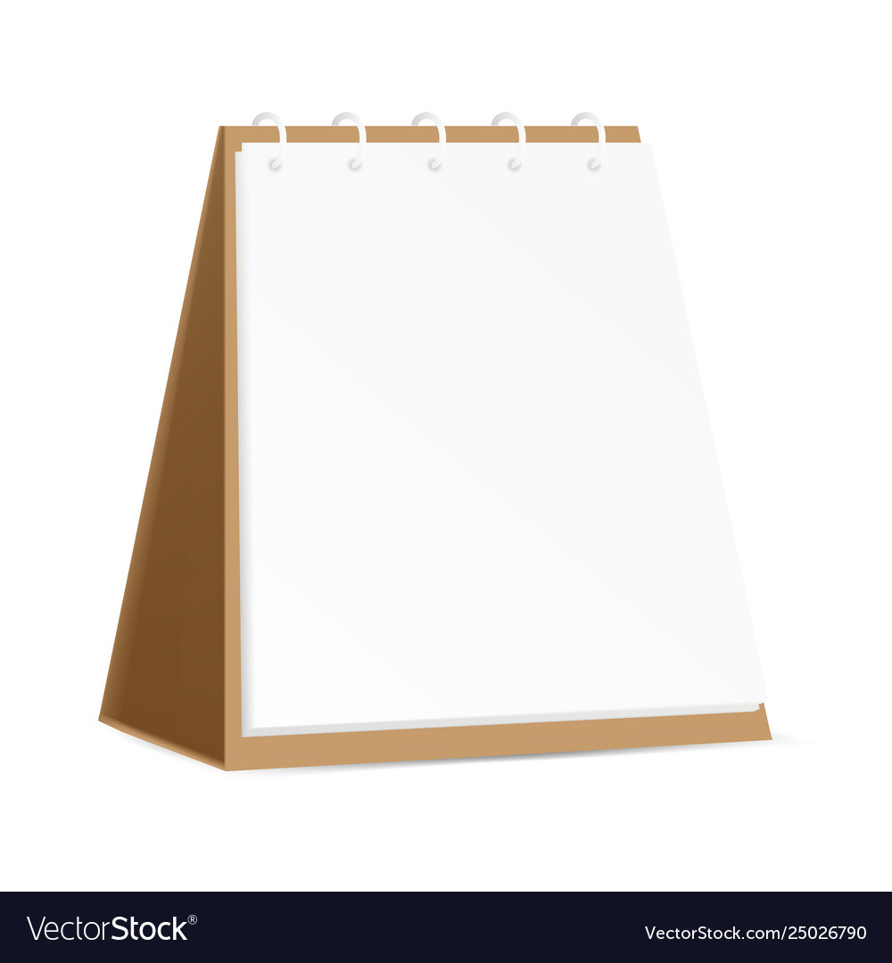 Brilliant Ads Brown Cardboard Blank Table Calendar Or Home Interior And Landscaping Sapresignezvosmurscom