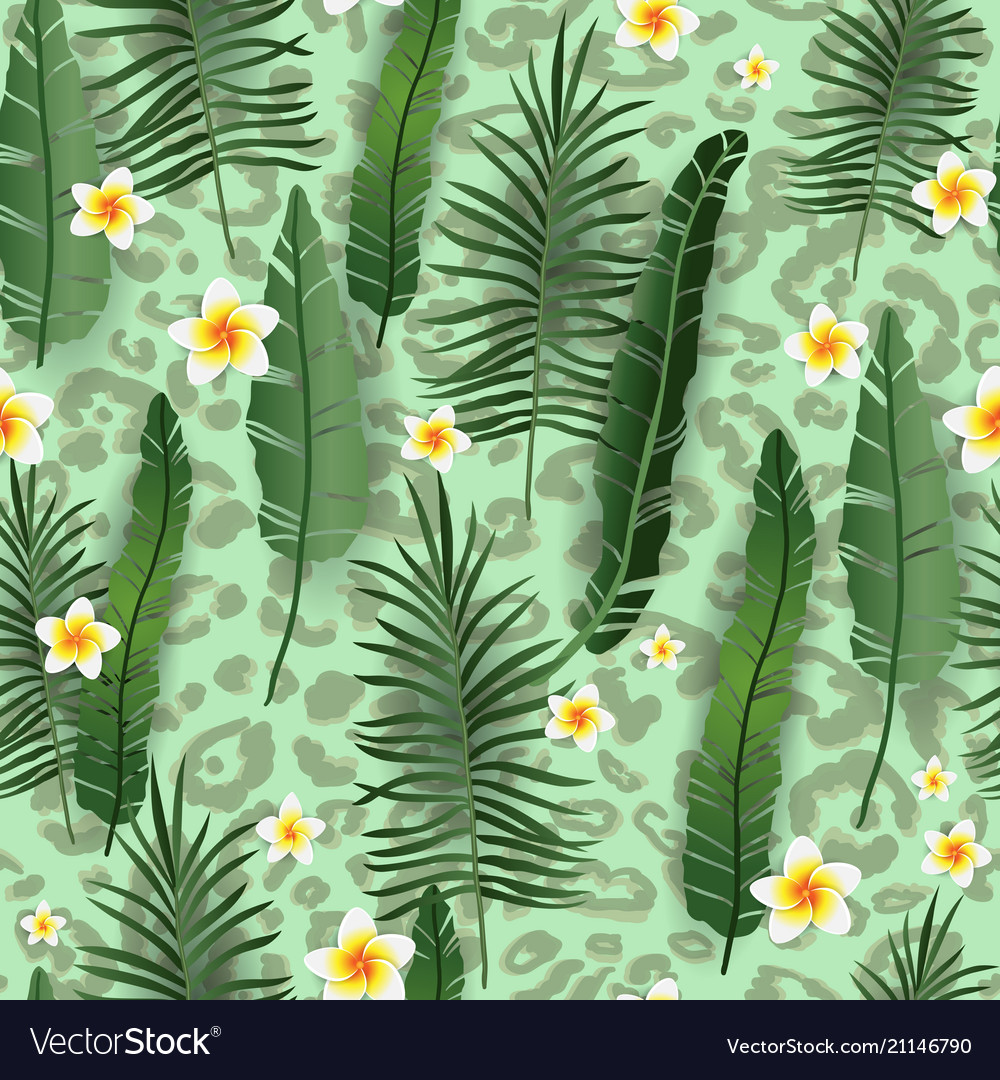 Green skin seamless pattern